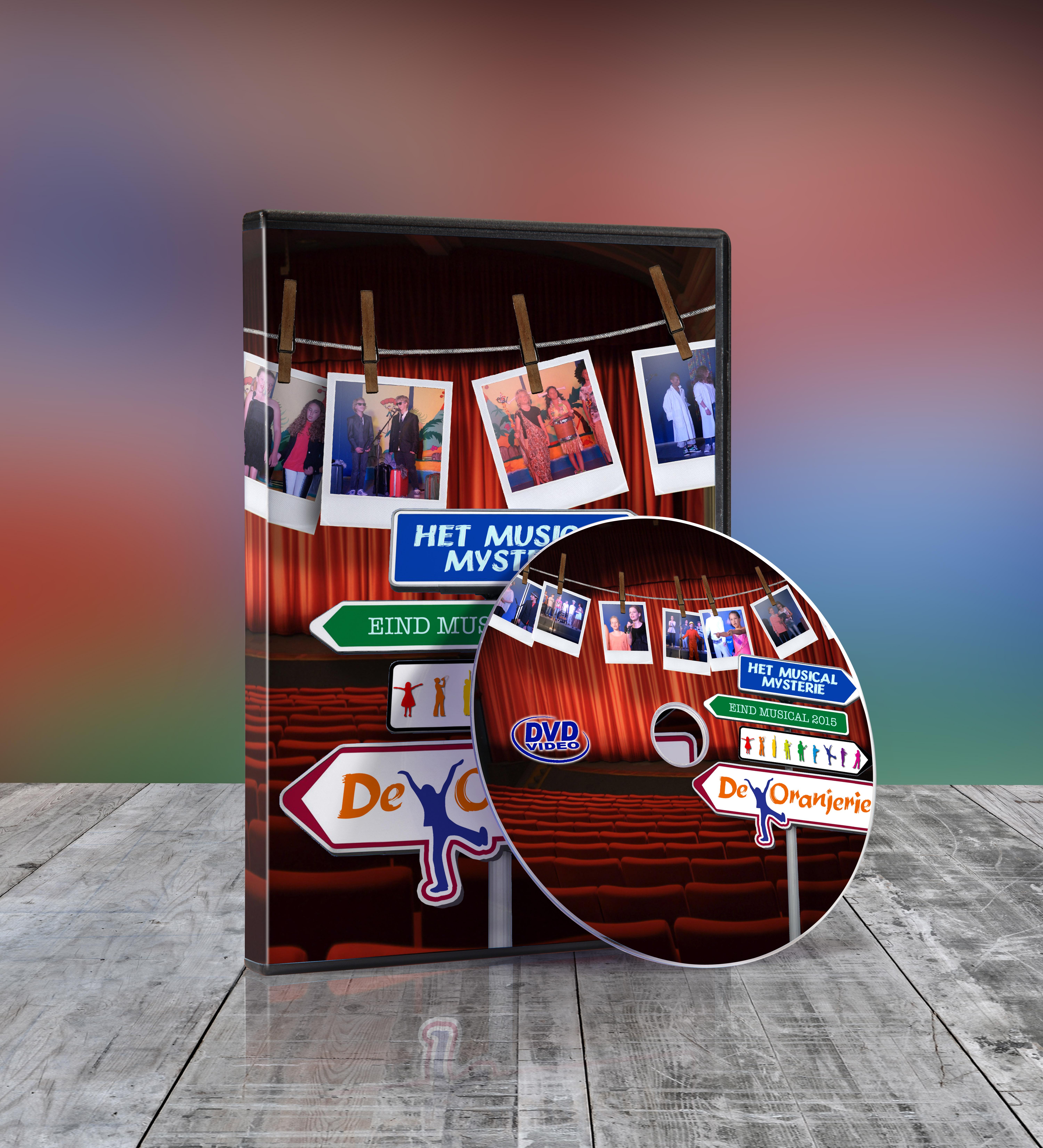 musical mysterie dvd mockup melange design bedrijfsvideografie musicalvideografie